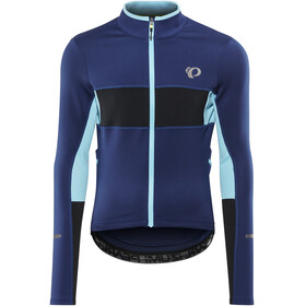 PEARL iZUMi ELITE Escape Thermal LS Jersey Men Blue Depths/Black